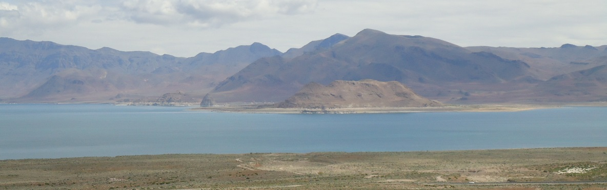 Pyramid Lake in Nevada